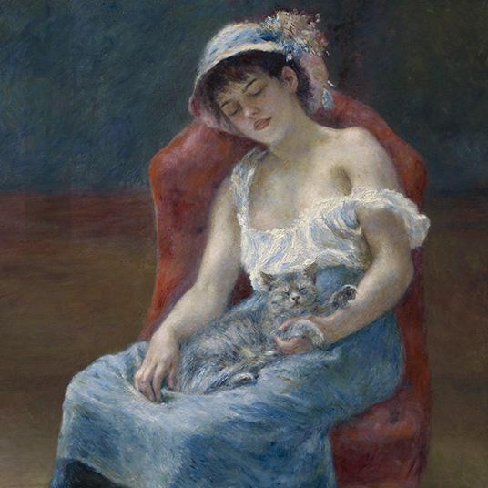 Renoir at the Clark: Renoir's Animals