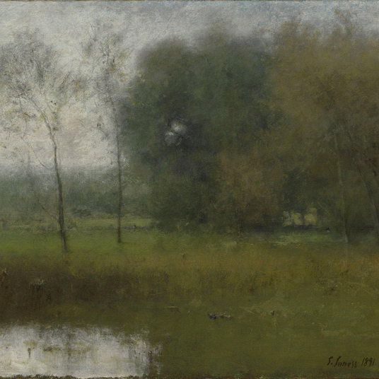 Looking at Lunchtime: George Inness