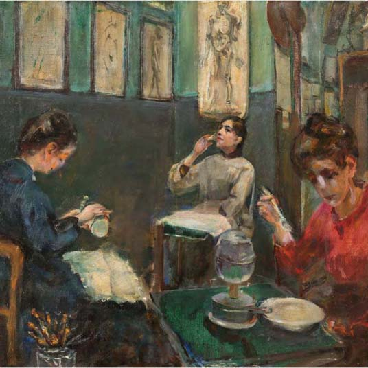 Featured Talk: Women Artists in Paris