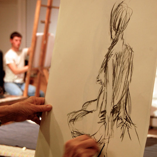 Drawing the Figure with IS183 Art School