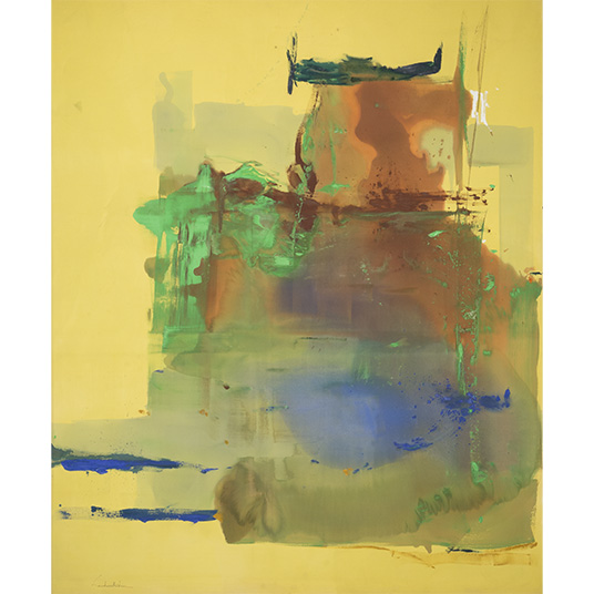 In and Around the Landscape: Helen Frankenthaler's Paintings