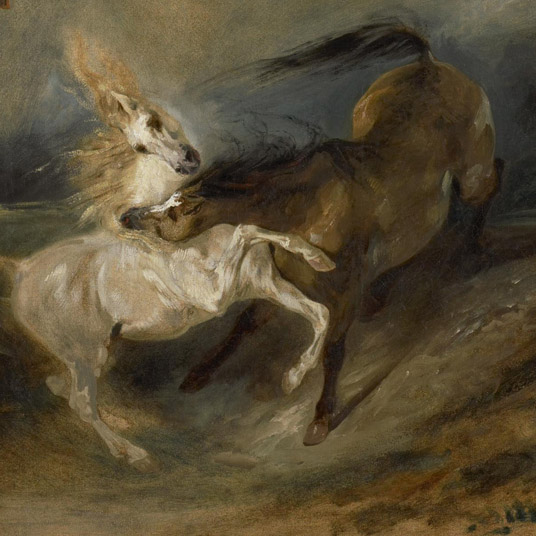 Looking and Lunching: Delacroix's Non-Human Animals