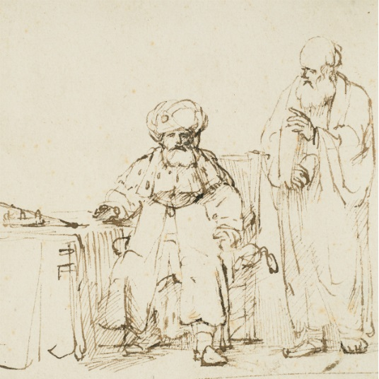Works on Paper Highlights Talk: 2019: The Year of Rembrandt